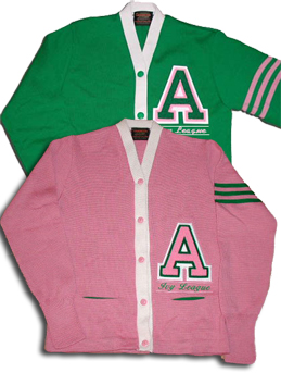 Customize your AKA Cardigan Letter Sweater
